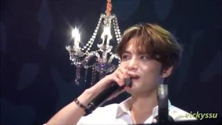 "Download Lagu 171105 Jaejoong Taiwan Fanmeeting (10) ""JJ sings Chinese songs and fans guess 小幸運"" Mp3"