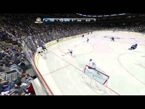"NHL 15: Toronto Maple Leafs Season ep. 42 ""Goalie Game / Winnipeg"""