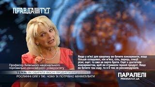 «Паралелі» Олена Сидоренко: Як обирати якісні продукти харчування?