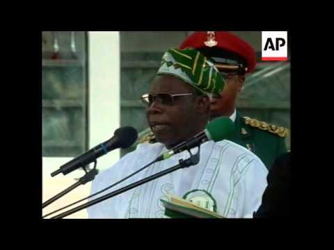 NIGERIA: OLUSEGUN OBASANJO INAUGURATION CEREMONY (2)