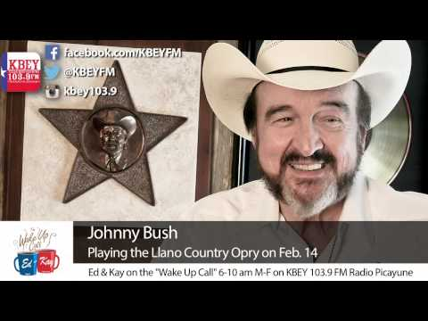 Johnny Bush at the Lantex Theater Feb. 14 | KBEY 103.9 FM
