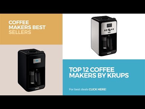 Top 12 Coffee Makers By Krups // Coffee Makers Best Sellers