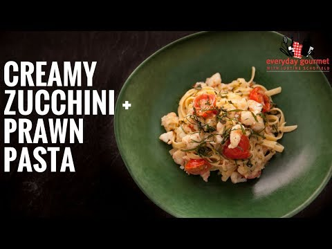 BOSCH Creamy Zucchini and Prawn Pasta | Everyday Gourmet S6 E9