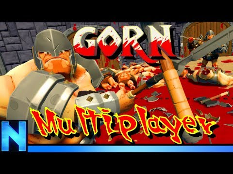 VR King Of The Arena 3v1 - GORN MULTIPLAYER!