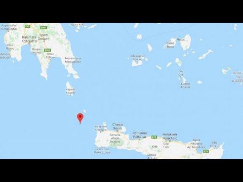 Ισχυρός σεισμός 6.1 Ρίχτερ στην Κρήτη