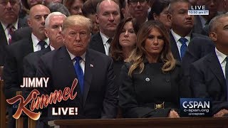 Video Trump Worried About Mean Comments at Bush Funeral MP3, 3GP, MP4, WEBM, AVI, FLV Desember 2018