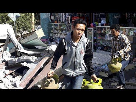 Indonesien: Mindestens 142 Tote nach Erdbeben