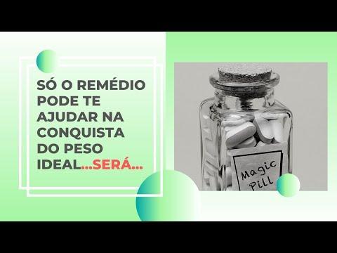 SÓ O REMÉDIO PODE TE AJUDAR A TER O PESO IDEAL... SERÁ?!?!