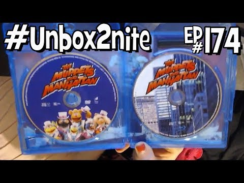 The Muppets Take Manhattan Blu-Ray / DVD Combo Pack - #Unbox2nite Episode 174