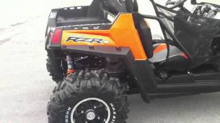 6. 2011 Polaris RZR S 800 Orange Madness