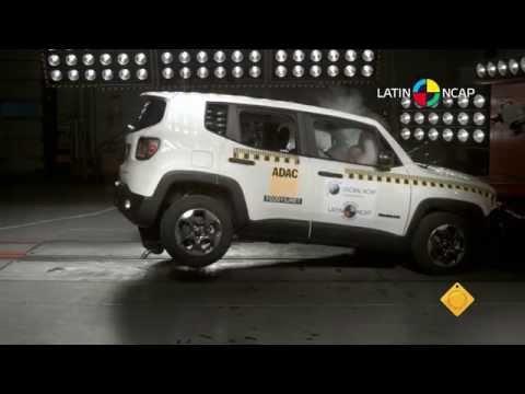 Jeep Renegade é o carro mais seguro, feito no Brasil