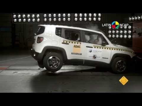 Jeep Renegade en Latin NCAP