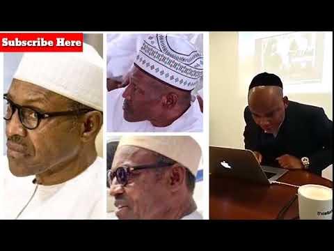 Live Speech: Nnamdi kanu Uncovered Impostors Jubrin Buhari that meet trump- (Getty Pictures)