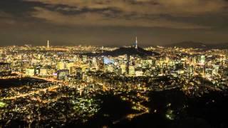 [SEOUL VIEW in 4K] 인왕산에서 본 서울 야경 타임랩스