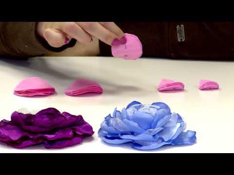 Цветы из ткани своими руками мастер классы в фото