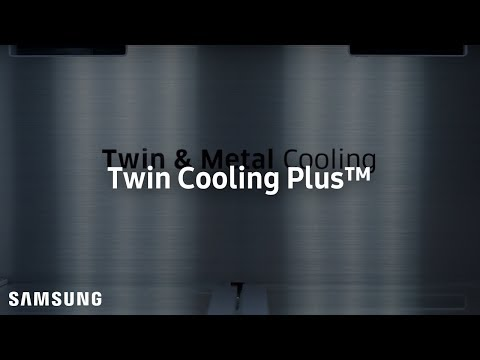 FOOD STAYS FRESHER LONGER - TWIN COOLING PLUS™ AND METAL COOLING™