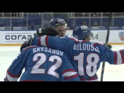 KHL Top 10 Goals for Week 9 / Лучшие голы девятой недели КХЛ (видео)