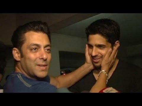 Salman Khan DISSES Karan Johar PRAISES Sidharth Ma