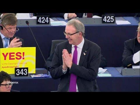 Abstimmung über die EU-Urheberrechtsreform am 26.03.19