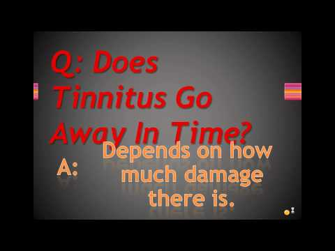 Does Tinnitus Go Away In Time?