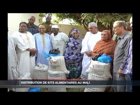 1000 kits alimentaires pour le Mali