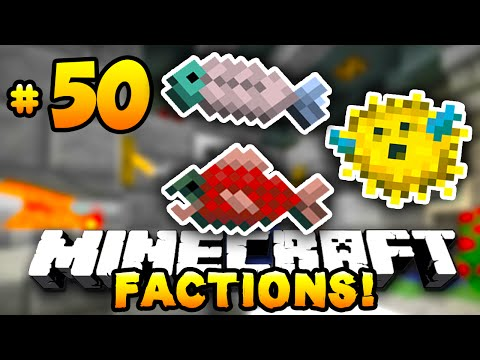 "Minecraft FACTIONS #50 ""FISH MCMMO GRINDER!"" – w/PrestonPlayz & MrWoofless"