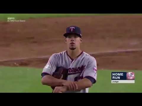 TWINS VS YANKEES AL WILD CARD GAME HIGHLIGHTS! MLB POSTSEASON 2017