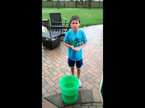 Ryan's Ice Bucket Challenge