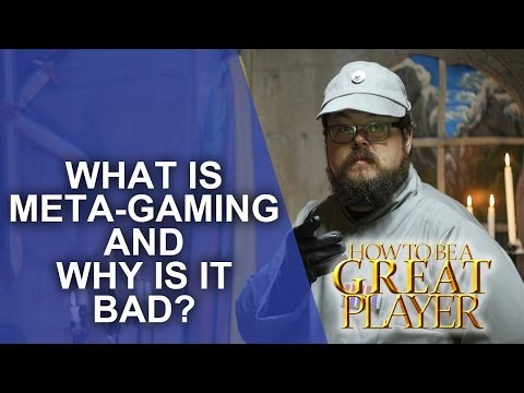 Great Role Player - What Is Metagaming And Is It Bad? - RPG Game Master Tips