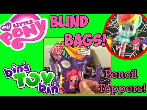 Bin - We open up these new SUPER CUTE My Little Pony Cameos Pencil Toppers Blind Bags from Blip Toys! We found them for $3 each at Target. See which ponies from the Mane Six we got inside! Thanks...