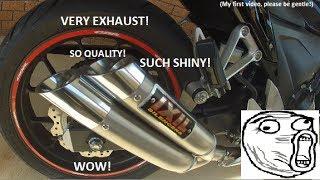9. 2013 Honda CBR500R Exhaust: Ixil Hyperlow L3X!