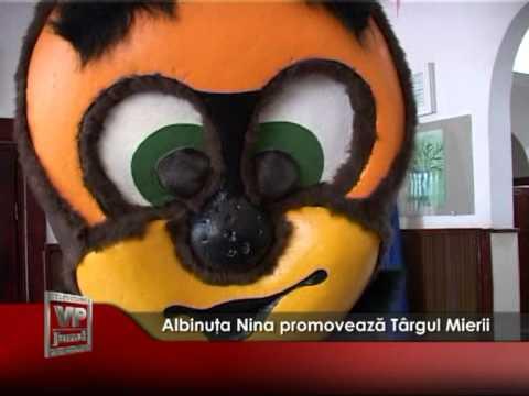 Albinuţa Nina promovează Târgul Mierii