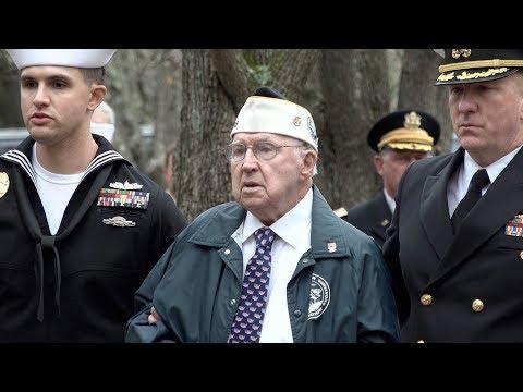 Pearl Harbor survivor attends remembrance ceremony