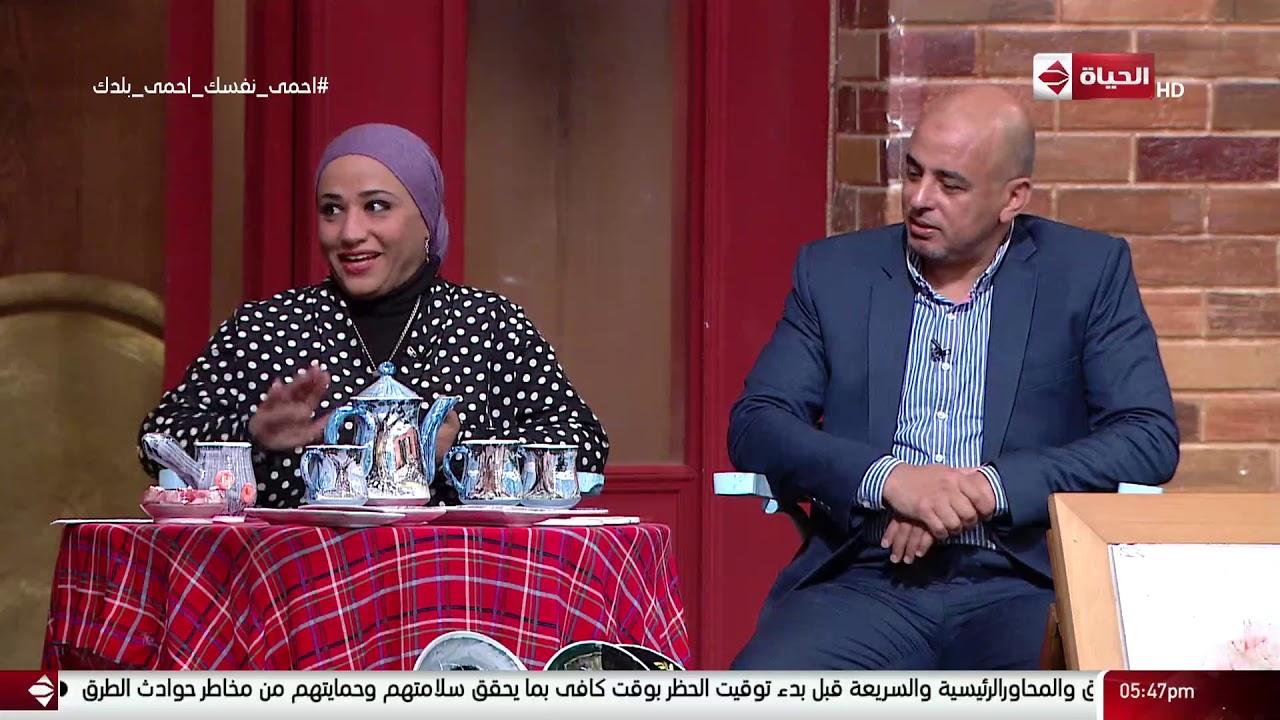 4 شارع شريف - فقرة العمال مع مى ندا و عبدالحميد عامر مؤسس مشروع THE ART OF MAI & hameed