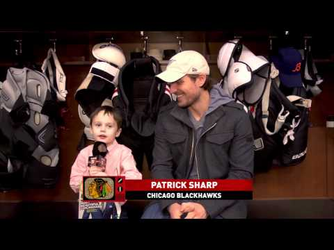 Joey the Junior Reporter - Girls And Patrick Sharp