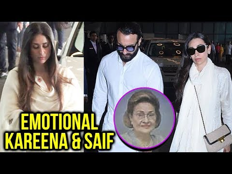 Kareena Kapoor, Saif Ali Khan, Karisma Kapoor Gets