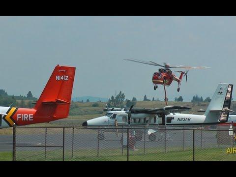 McCall, Idaho is a busy air attack...