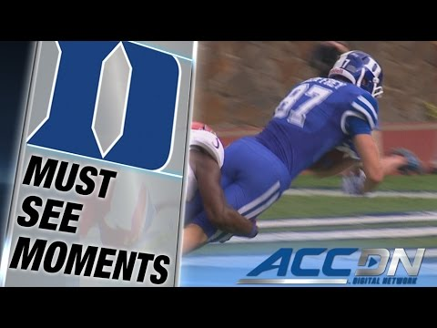 Max McCaffrey 36 yard touchdown reception vs Kansas 2014 video.