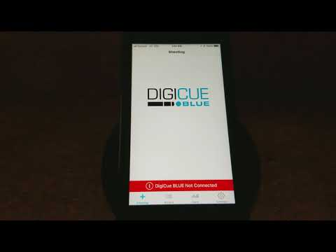 How to connect your DigiCue Blue to the DigiCue iOS App