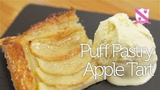 Puff Pastry Apple Tart Recipe - In The Kitchen With Kate