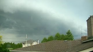 May 30, 2015 - Severe thunderstorms time lapse