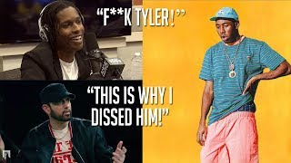 Celebrities Talk About Tyler, The Creator (Eminem, A$AP Rocky, Logic & Jaden Smith)