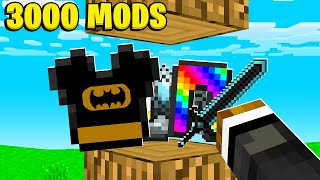 We Added OVER 3000 Mods To Minecraft | JeromeASF