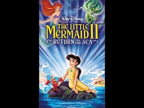 Opening to The Little Mermaid II Return to the Sea 2000 VHS (Version #2)