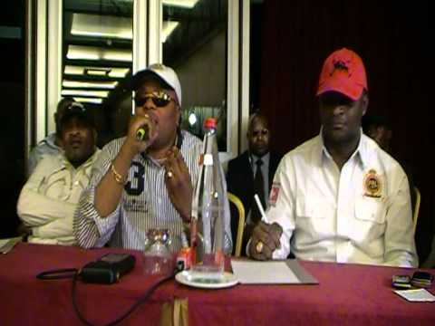 Csar NGADI : JB MPIANA en confrence (explication Mpunda)