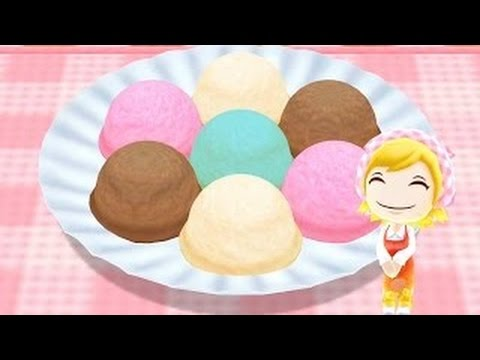 How To Make Ice Cream Learn To Cook With Cooking MaMa Cartoon For Kids Children Toddlers B