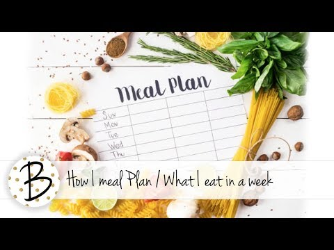 2 Week Diet - How I meal plan and what we eat in a week (Collab with Lollipop Box Club)