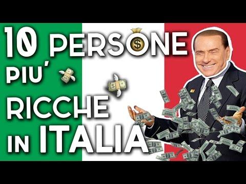 i 10 uomini più ricchi d'italia