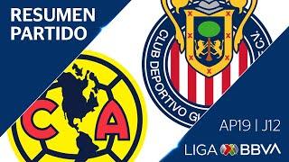 Resumen y Goles | América vs Chivas | Jornada 12 - Apertura 2019 | Liga BBVA MX