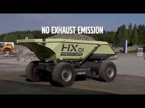 Volvo показала тягач, которому не нужен водитель